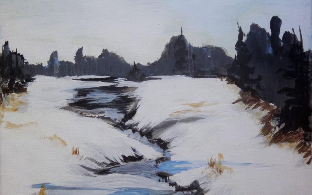 MN Paint and Sip January Villard