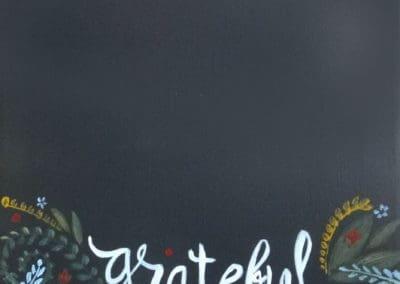 Grateful Chalkboard