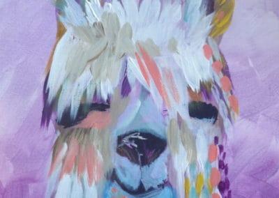 Pastel Llama