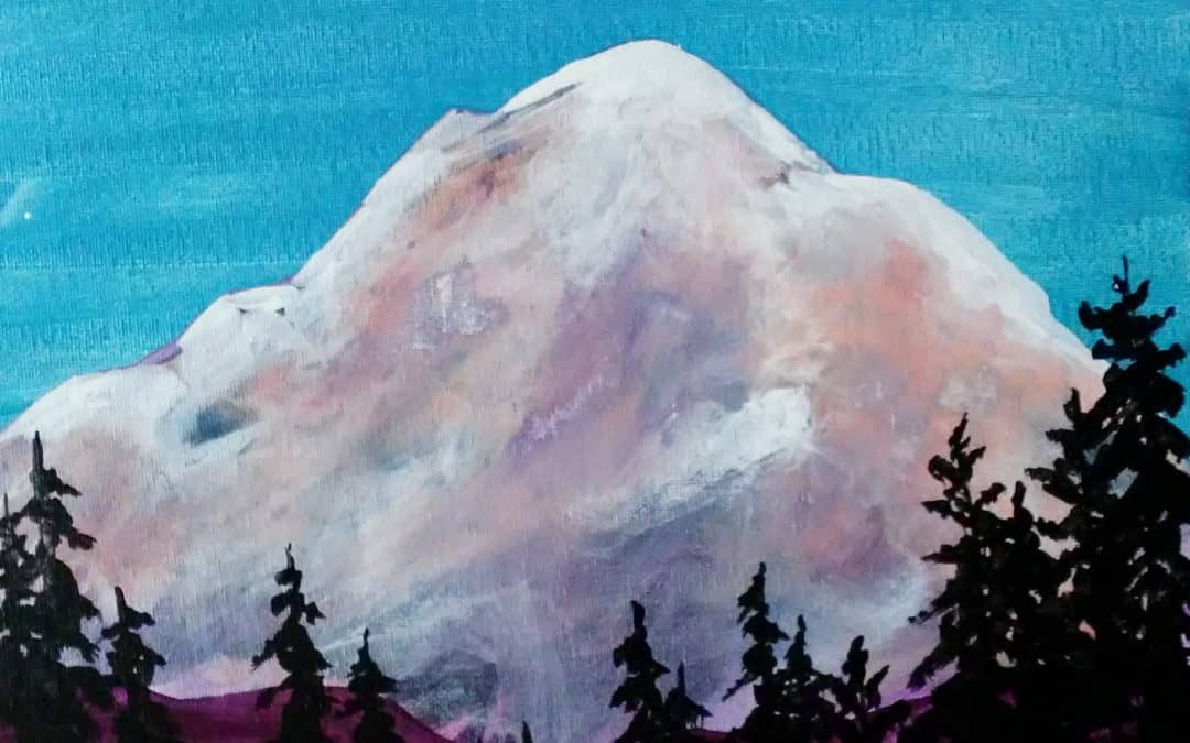 New mountain paintings now available in the gallery!