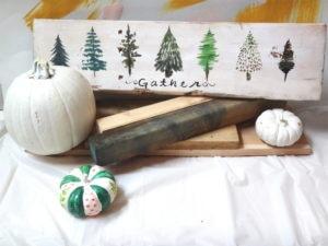 wood sign workshop art class paint and sip tenino
