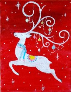 Frosty Reindeer